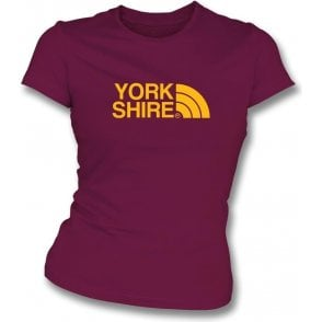 Yorkshire (Bradford City) Womens Slim Fit T-Shirt