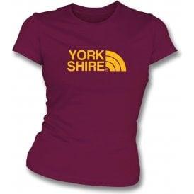 Yorkshire (Bradford City) Womens Slim Fit T-Shirt