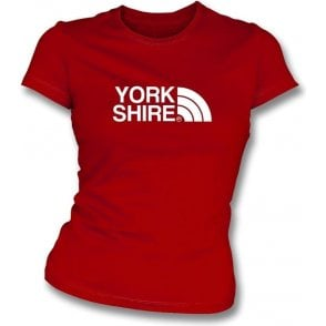 Yorkshire (Doncaster Rovers) Womens Slim Fit T-Shirt