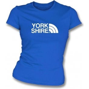 Yorkshire (Sheffield Wednesday) Womens Slim Fit T-Shirt