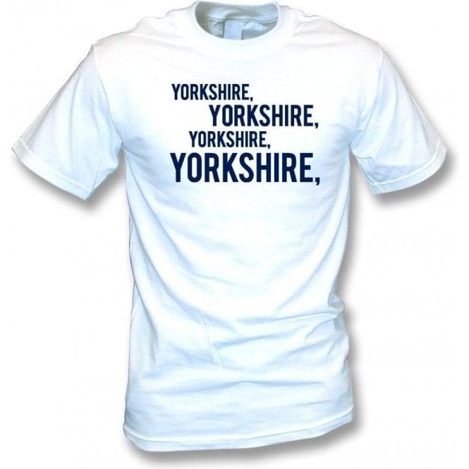Yorkshire, Yorkshire, Yorkshire T-Shirt (Leeds)