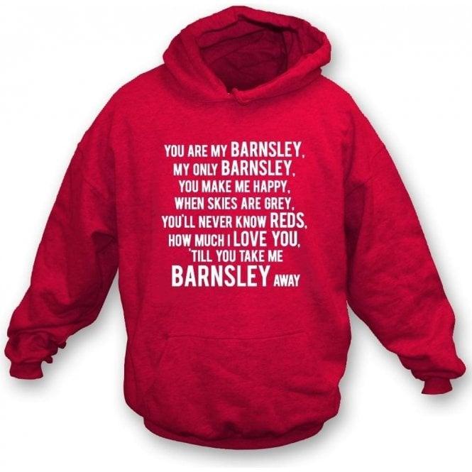 You Are My Barnsley Hooded Sweatshirt