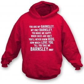 You Are My Barnsley Hooded Sweatshirt