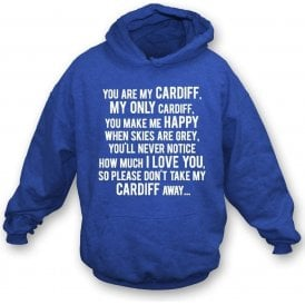 You Are My Cardiff Hooded Sweatshirt