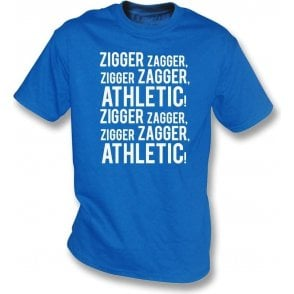 Zigger Zagger Athletic (Oldham Athletic) Kids T-Shirt