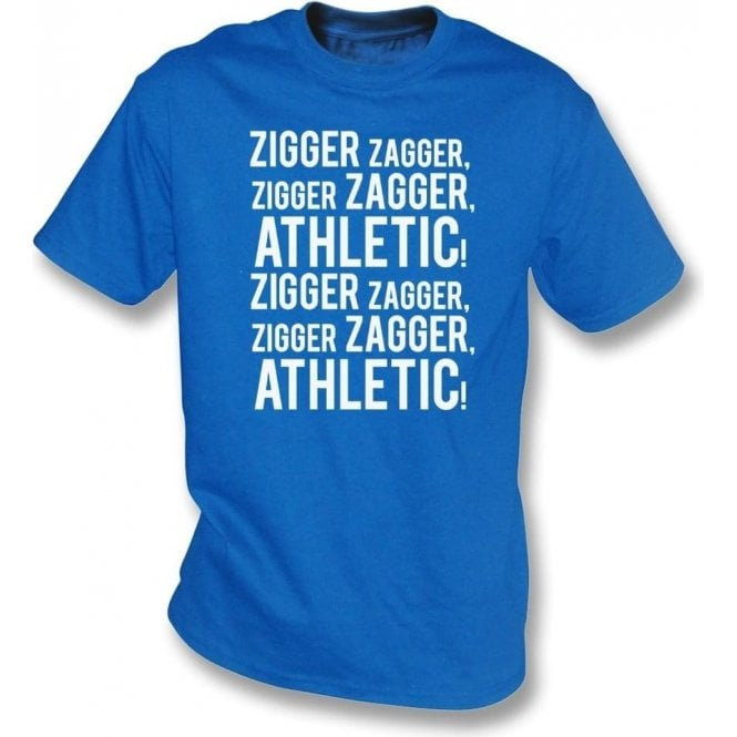Zigger Zagger Athletic (Oldham Athletic) T-Shirt