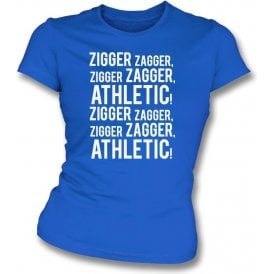Zigger Zagger Athletic (Oldham Athletic) Womens Slim Fit T-Shirt